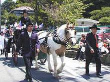 5月16日「黒船祭」馬車パレード