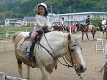 「乗馬体験の日」開催!