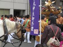 亀戸天神社例大祭にチェリーが参加しました!